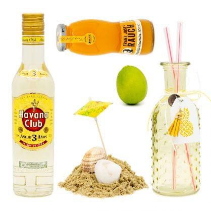 Urlaubstäume - Cocktail-Set - Rum