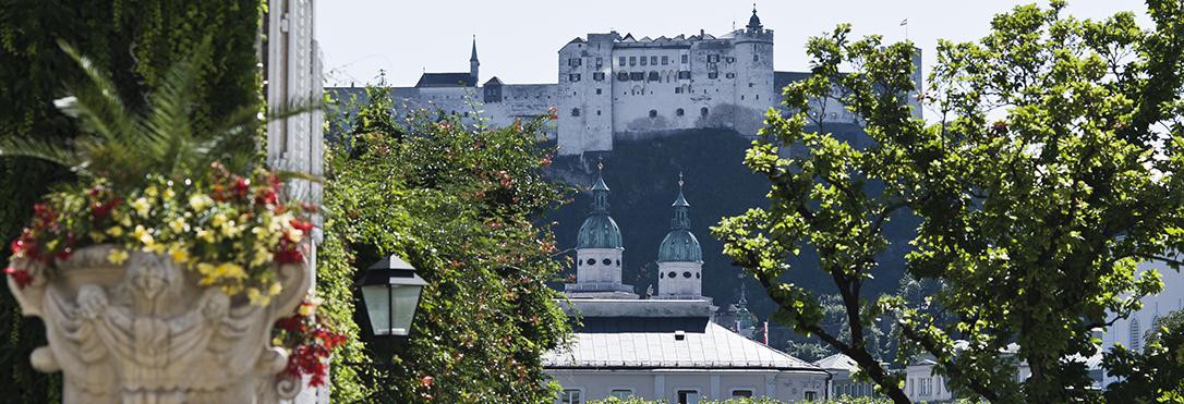 Salzburg Guide - Blick auf die Festung