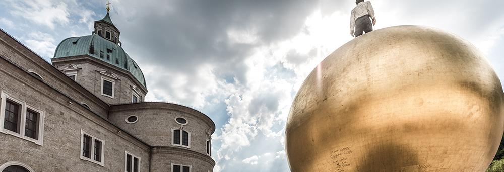 Salzburg Guide - Dom goldene Kuppel