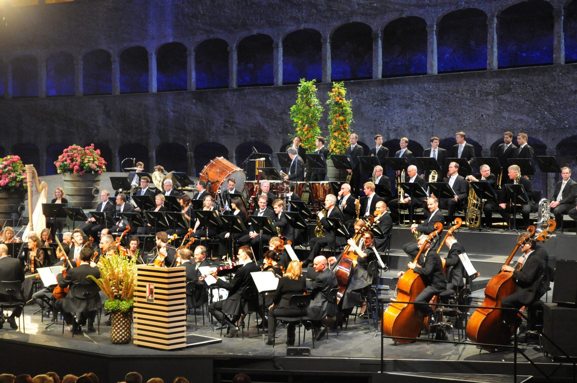 Klassisches Konzert in der Felsenreitschule