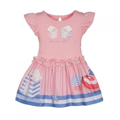 Rosa Mädchen Kleid