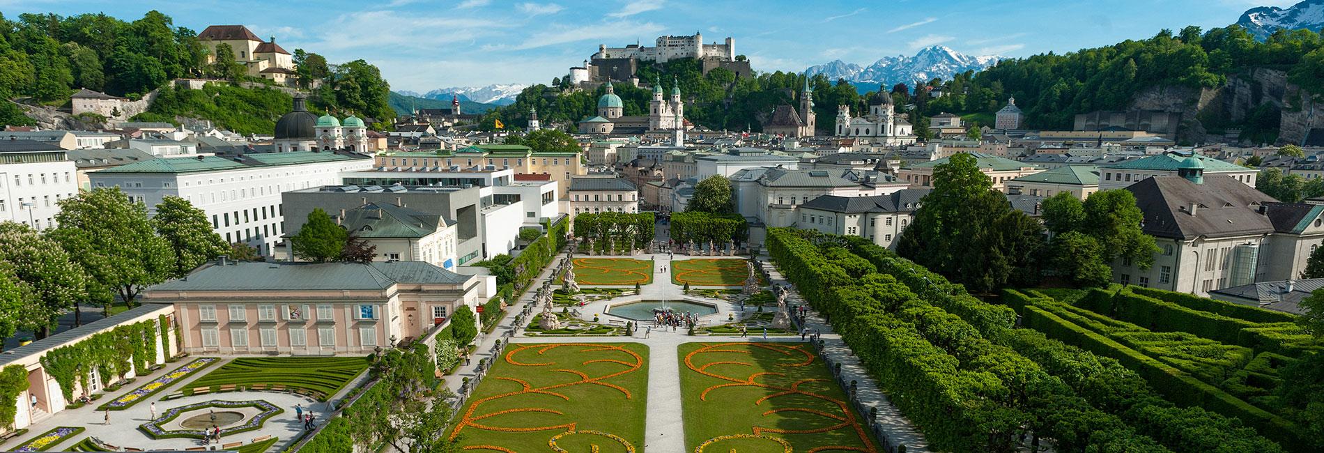 Salzburg Guide Tourismus - Mirabell