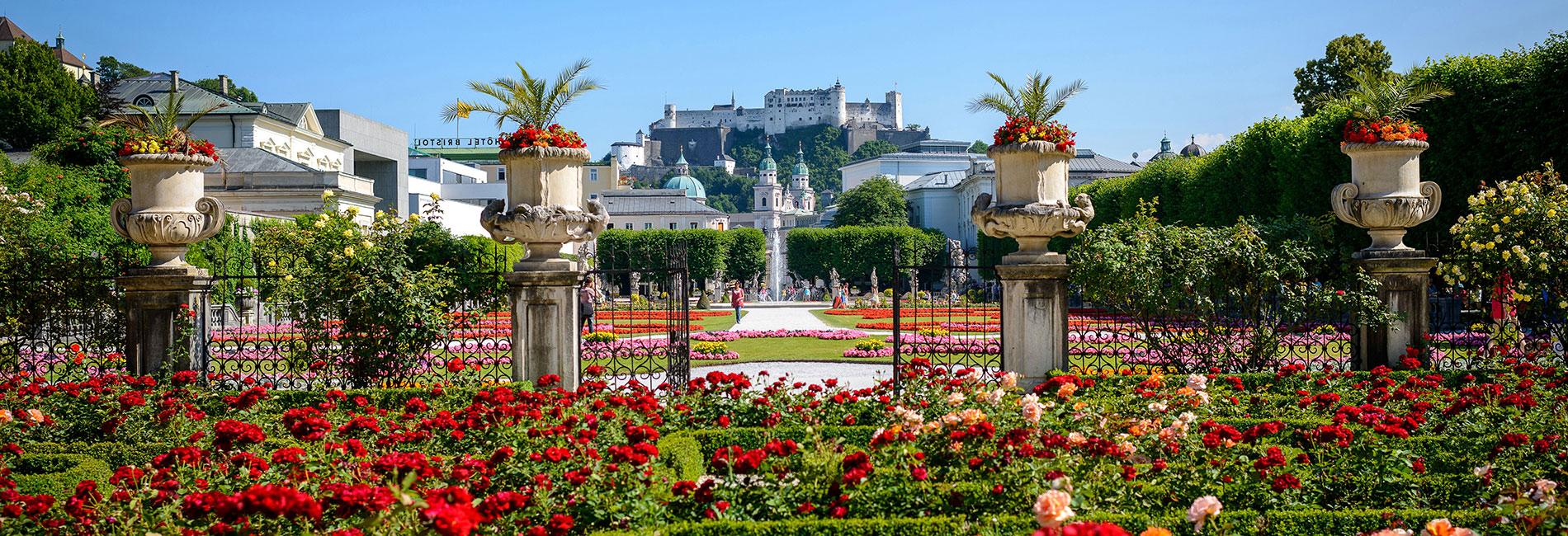 Salzburg Guide Tourismus - Mirabellgarten