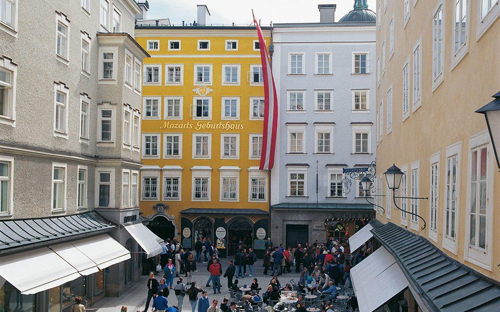 Salzburg Guide - Mozart Geburtshaus