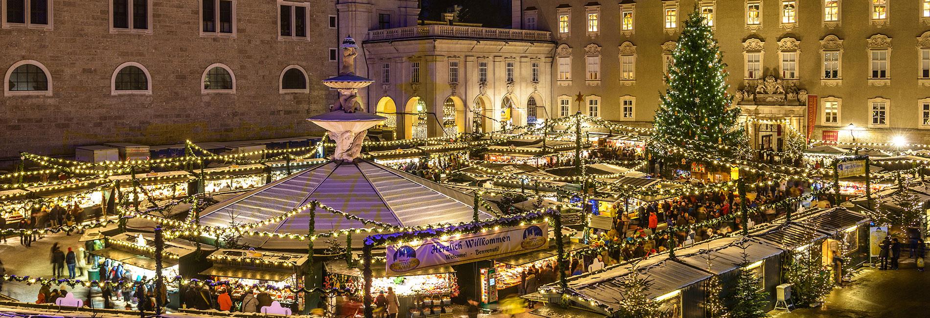 Salzburg Guide Tourismus - Christkindlmarkt
