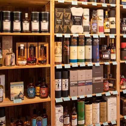 Pinkernells whisky gallerie